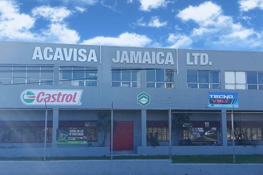 ACAVISA Jamaica Ltd. – Exclusive distributor of Castrol